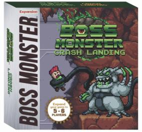 Boss Monster Crash Landing Expansion Brotherwise | Cardboard Memories Inc.