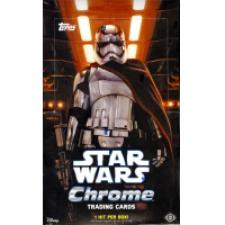 2016 Topps Chrome Star Wars Hobby Box Topps | Cardboard Memories Inc.