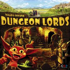 Dungeon Lords Czech Games | Cardboard Memories Inc.