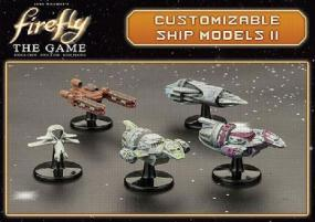 Firefly Customizable Ship Models II Gale Force Nine | Cardboard Memories Inc.