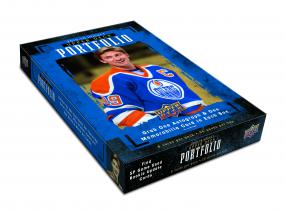 2015-16 Upper Deck Portfolio Hockey Hobby Box Upper Deck | Cardboard Memories Inc.
