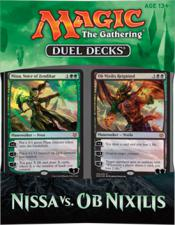 Magic the Gathering Duel Deck - Nissa vs Ob Nixilis Magic The Gathering | Cardboard Memories Inc.