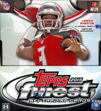 2015 Topps Finest Football Hobby Box Topps | Cardboard Memories Inc.