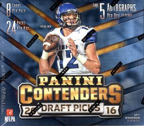 2016 Panini Contenders Draft Picks Football Hobby Box Panini | Cardboard Memories Inc.