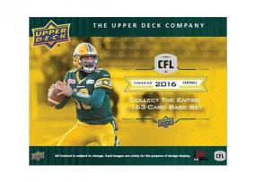 2016 Upper Deck CFL Football Hobby Box Upper Deck | Cardboard Memories Inc.