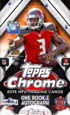 2015 Topps Chrome Football Hobby Box Topps | Cardboard Memories Inc.