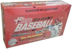2016 Topps Heritage High Number Baseball Hobby Box Topps | Cardboard Memories Inc.