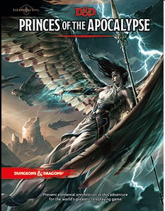 Dungeons & Dragons 5th Edition - Princes of the Apocalypse Wizards of the Coast | Cardboard Memories Inc.
