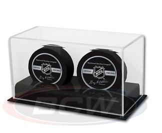 BCW Acrylic Double Puck Display Holder BCW | Cardboard Memories Inc.