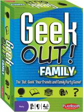 Geek Out! Family Edition Playroom Entertainment | Cardboard Memories Inc.