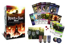 Attack on Titan Deck-Building Game Cryptozoic | Cardboard Memories Inc.
