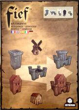 Fief - Buildings Asyncron Games | Cardboard Memories Inc.