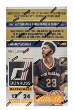 2016-17 Panini Donruss Basketball Hobby Box Panini | Cardboard Memories Inc.