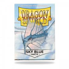 Dragon Shield Sleeves - Matte Sky Blue Arcane Tinmen | Cardboard Memories Inc.