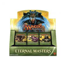 Magic the Gathering Eternal Masters Booster Box Magic The Gathering | Cardboard Memories Inc.