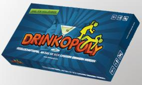 Drinkopoly - The Blurriest Game Ever! F G Bradley | Cardboard Memories Inc.