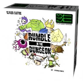 Rumble in the Dungeon Cool Mini or Not | Cardboard Memories Inc.