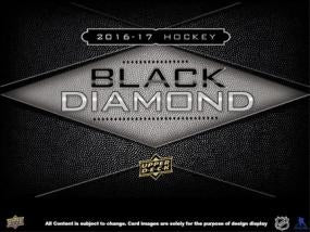 2016-17 Upper Deck Black Diamond Hockey Hobby Box Upper Deck | Cardboard Memories Inc.