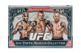 2016 Topps Museum Collection UFC Hobby Box Topps | Cardboard Memories Inc.