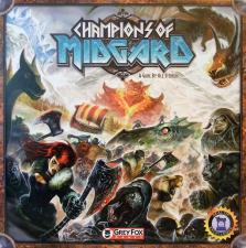 Champions of Midgard Grey Fox Games | Cardboard Memories Inc.