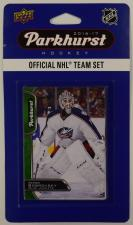 2016-17 Parkhurst NHL Hockey Team Set - Columbus Blue Jackets Upper Deck | Cardboard Memories Inc.