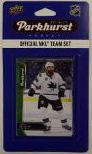 2016-17 Parkhurst NHL Hockey Team Set - San Jose Sharks Upper Deck | Cardboard Memories Inc.