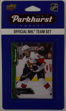 2016-17 Parkhurst NHL Hockey Team Set - Ottawa Senators Upper Deck | Cardboard Memories Inc.