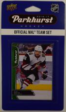 2016-17 Parkhurst NHL Hockey Team Set - Arizona Coyotes Upper Deck | Cardboard Memories Inc.