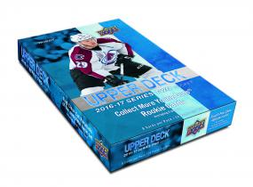 2016-17 Upper Deck Series 2 Hockey Hobby Box Upper Deck | Cardboard Memories Inc.