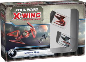 Star Wars X-Wing Expansion Pack - Imperial Aces Fantasy Flight Games | Cardboard Memories Inc.