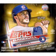 2017 Topps Series 1 Baseball Jumbo Box Topps | Cardboard Memories Inc.