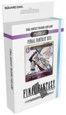 Final Fantasy Opus I - XIII Ice and Lightning Starter Deck Square Enix | Cardboard Memories Inc.