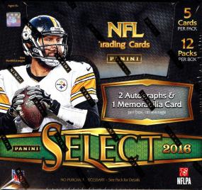 2016 Panini Select Football Hobby Box Panini | Cardboard Memories Inc.