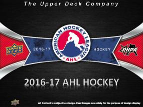 2016-17 Upper Deck AHL Hockey Hobby Box Topps | Cardboard Memories Inc.