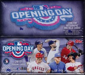 2017 Topps Opening Day Baseball Retail Box Topps | Cardboard Memories Inc.