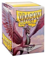Dragon Shield Sleeves - Matte Pink Arcane Tinmen | Cardboard Memories Inc.