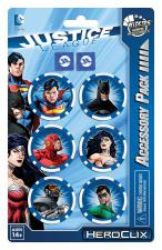 DC HeroClix - Justice League - Dice & Token Pack Wizkids | Cardboard Memories Inc.