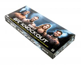 2017 Topps UFC Knockout Hobby Box Topps | Cardboard Memories Inc.