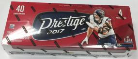 2017 Panini Prestige Football Hobby Box Panini | Cardboard Memories Inc.