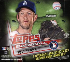 2017 Topps Series 2 Baseball Jumbo Box Topps | Cardboard Memories Inc.