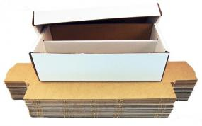 1600 Count Cardboard Card Box Bundle of 25 BCW | Cardboard Memories Inc.