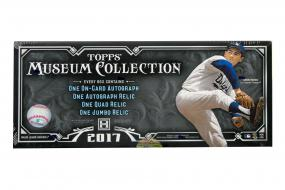 2017 Topps Museum Collection Baseball Hobby Box Topps | Cardboard Memories Inc.