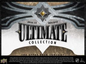 2016-17 Upper Deck Ultimate Collection Hockey Hobby Box Upper Deck | Cardboard Memories Inc.