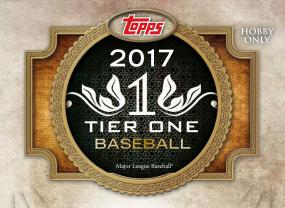 2017 Topps Tier One Baseball Hobby Box Topps | Cardboard Memories Inc.