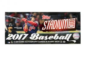 2017 Topps Stadium Club Baseball Hobby Box Topps | Cardboard Memories Inc.