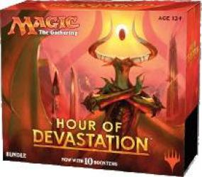 Magic the Gathering Hour of Devastation Bundle (Fat Pack) Magic The Gathering | Cardboard Memories Inc.