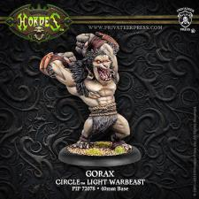 Hordes - Circle Orboros - Gorax Light Warbeast - PIP 72078 Privateer Press | Cardboard Memories Inc.