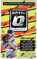 2017 Panini Donruss Optic Baseball Hobby Box Panini | Cardboard Memories Inc.