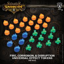 Hordes/Warmachine - Universal Effect Tokens - PIP 91122 Privateer Press | Cardboard Memories Inc.