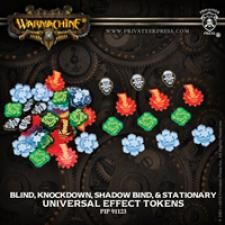 Hordes/Warmachine - Universal Effect Tokens - PIP 91123 Privateer Press | Cardboard Memories Inc.